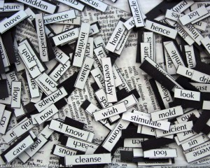 Magnetic Poetry, par Surreal Muse, licence CC