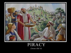 Piracy - Jesus dit it